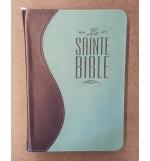 Bible Segond 1910 - Duo bleu nuit turquoise