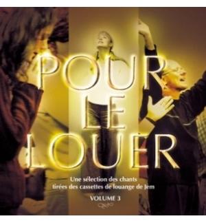 CD Pour le louer - Volume 3 - JEM