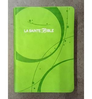 Bible Segond 1910 - Similicuir vert