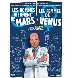 DVD Les hommes viennent de Mars, les femmes de venus