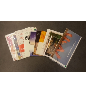 Lot de 10 cartes pour 1€ seulement Photo non contractuelle