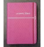 Bible similicuir rose, tranche argent - Segond 1910