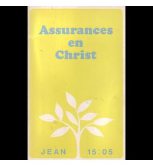 Assurance en Christ