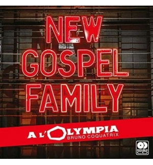 CD New Gospel Family à l'Olympia double CD