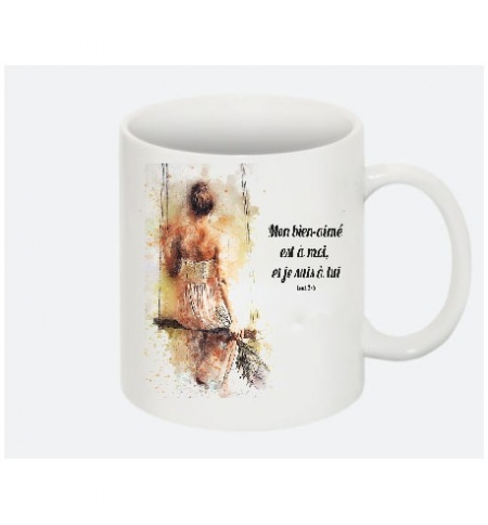 Mug Mon bien-aimé est à moi ... Cant. 2:16
