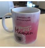 """Mug blanc """"Bonne fête Maman Prov. 31.29"""""""