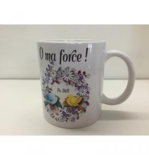 Mug : O Ma Force psaume 59 : 17