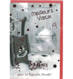 Cartes noël nouvel an