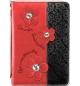Pochette Bible Live Simply - Medium Noir et rouge + fleurs