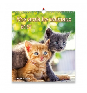 Calendrier nos amis les animaux 2021