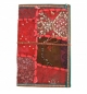 Journal intime patchwork ton rouge