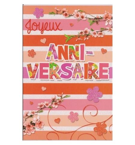 "Carte ""Anniversaire"""